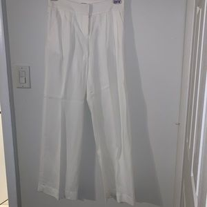 Diane Von Furstenberg linen blend pant for suit